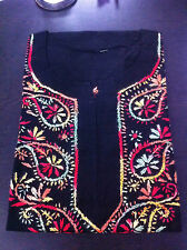 100% Cotton KURTI WITH CHICKEN KADHAI Free Size