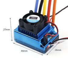 120A ESC Sensored Brushless Speed Controller For 1/8 1/10 Car/Truck Crawler KN
