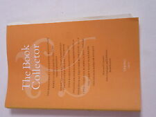 The Book Collector Spring 2011 Paperback #11M150