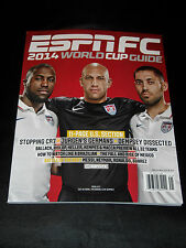 ESPN FC JULY 2014 SPECIAL EDITION USA FIFA WORLD CUP SOCCER GUIDE MAGAZINE