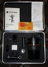 CELESTRON C90 1000mm f/11 Telescope w/ Case + Accessories (Maksutov-Cassegrain)