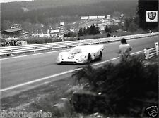JO SIFFERT PORSCHE 917 SPA FRANCORCHAMPS 1000KM 1970 WYER AUTOMOTIVE PHOTOGRAPH