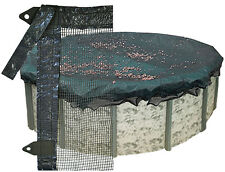 NEW LEAF GUARD NET FOR 18' ROUND WINTER ABOVE GROUND POOL COVER 1 YR WARRANTY