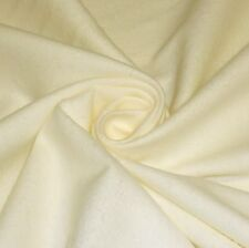 Plain Cream 100% Brushed Cotton Winceyette Flannelette *Per Metre