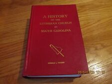1971 A HISTORY OF THE LUTHERAN CHURCH IN SOUTH CAROLINA The History of Synod Com