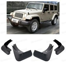Car Mud Flaps Splash Guard Fender Mudguard for 2007-2016 Jeep Wrangler SUV