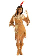 Pocahontas Native American Indian Costume Maiden Princess Sexy Adult Female