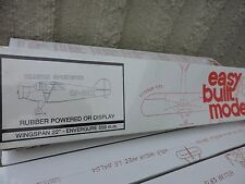 "EASY BUILT FLYING MODEL REARWIN  SPORTSTER 22""WS BALSA & PAPER MODEL KIT #FF-20"