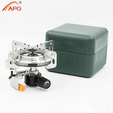 APG Portable Camping Gas Stove Outdoor Camping Cooking Equipment Propane Burner