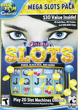 BIG FISH CASINO MEGA SLOT PACK FOR PC ONLINE 20 SLOT GAMES BRAND NEW