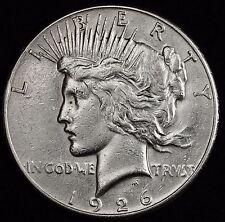 1926-s Peace Silver Dollar.  High Grade. 106248