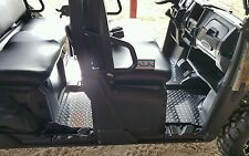 Polaris Ranger 570 Mid Size Crew Cab Floor Boards Mats 2014 up Diamond plate Alu
