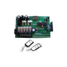 Centrale de remplacement automatisme de portail moteurs en 12V + 2 télécommandes