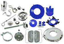 VW BUG ENGINE DRESS UP KIT (BLUE-CHROME) EMPI 8654