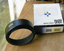 49mm screw in  Lens Hood shade badged hoya made in  japan used