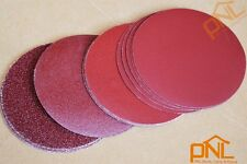 "20Pcs 7""(180mm) Sanding Discs Hook&Loop Sanding Pad Flocking Sandpaper Mixed Set"