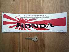 HONDA Japanese Hinomaru HELMET VISOR SUNSTRIP Sticker Race Rally Car Motorcycle