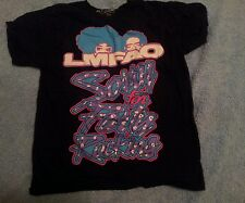 LMFAO Sorry For Party Rocking Black Neon Sz Large