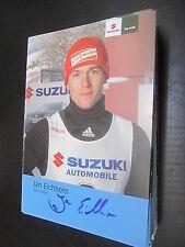 33138 Jan Eichhorn Rodeln original signierte Autogrammkarte