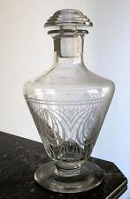 Belle carafe  en cristal de Saint Louis modèle Astrid parfait état;