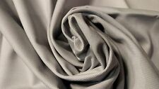 "100% COTTON LIGHT GRAY 10 OZ. BULL DENIM CANVAS TWILL FABRIC 57"" UPHOLSTERY SOFT"