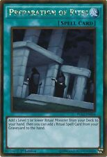 Yugioh Preparation of Rites PGL2-EN054 1st Gold Rare Near Mint Fast Shipping!