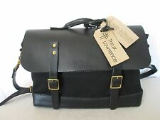 Genuine Thrux Lawrence canvas and leather messenger bag brief carry all