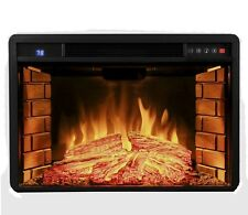 "3D Fireplace 28"" Insert Free Standing Electric Flame Logs With Remote 3D Flame"