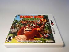 Donkey Kong Country Returns 3D (Nintendo 3DS) w/case xl 2ds