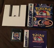 Pokemon Trading Card Game complete box Nintendo Gameboy color gba advance SP