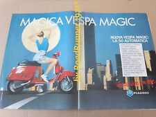 VESPA Piaggio _MAGIC 50 automatic_pubblicità originale_1985_advertising_werbung