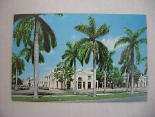 VINTAGE PHOTO POSTCARD OF ROYAL POINCIANA PLAZA IN PALM BEACH, FLORIDA 1966