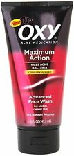 OXY Acne Medication Maximum Action Advanced Face Wash 6.25 oz (Pack of 3)
