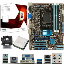 Amd X6 Core Fx-6300 3.5 ghz + Asus M5a78l-m Usb3-Board Y Cpu Bundle