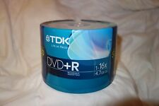 TDK 4.7GB 16X DVD+R 50 Packs Spindle Disc
