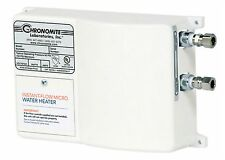 Chronomite M-40/277 Instant-Flow Micro Tankless Electric Hot Water Heater 110F