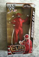 WWE Mattel Elite Series 18 BRODUS CLAY Wrestling Figure MOC NEW wwf wcw
