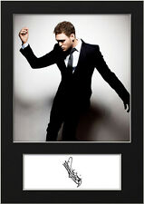 MICHAEL BUBLE #3 Signed Print A5 Mounted Photo Print - FREE DELIVERY