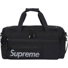 SUPREME Logo Duffle Black box logo safari pcl moss comme S/S 14