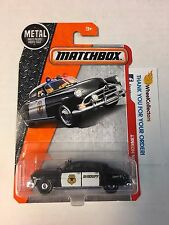 '51 Hudson Hornet #57 * BLACK * Matchbox 2017 Case B