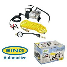 Ring Super Heavy Duty Air Compressor 100psi Max Inflator Kit & Deflator RAC900