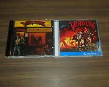 LOT 2 CD VENDETTA - GO AND LIVE + BRAIN DAMAGE $6 - REGISTERED SHIP WITH CASES