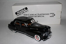 1941 CADILLAC FLEETWOOD SERIES 60 DANBURY MINT DIECAST MODEL 1:24 SCALE  BOXED