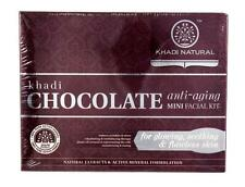 Khadi Chocolate Anti-Aging Mini Facial Kit for Glowing & Flawless Skin - 75gm