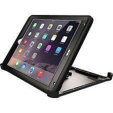 Authentic Otterbox Defender RUGGED PROTECTION Black Case W/ Stand For iPad Air 2