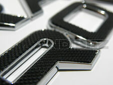 RANGE ROVER EVOQUE CHROME EDGE TEXTURED INLAY BONNET BADGE LETTERING WORD LAND