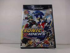 SONIC RIDERS --- GAMECUBE Complete CIB w/ Box, Manual