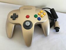 LIMITED EDITION GOLD NINTENDO 64 N64 CONTROLLER ~ 1st CLASS P&P