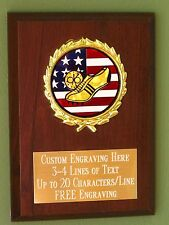 Cross Country/Track/Sport/Flag Award Plaque 4x6 Trophy FREE engraving