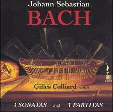 Bach: 3 Sonatas and Partitas for Solo Violin, New Music